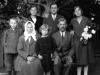 Kornel Kałuski z rodziną, ok. 1930 rok