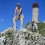 2008-06-22 Olsztyn - zdobywcy zamków na szczytach